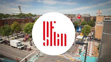 Design Montréal Place Simon-Valois